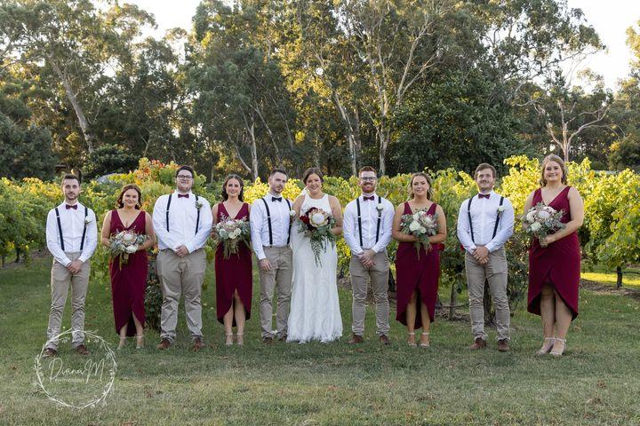 Woodstock weddings South Australia
